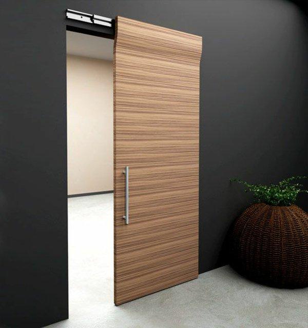 купейная межкомнатная дверь модная фото дерево стиль