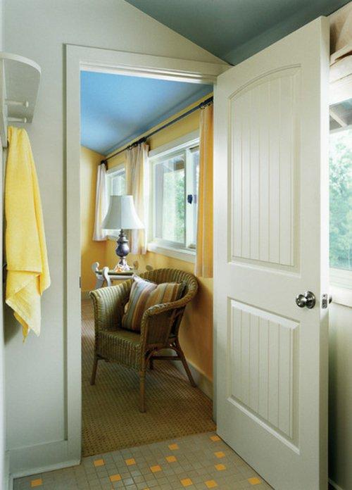 межкомнатная дверь в ванную фото