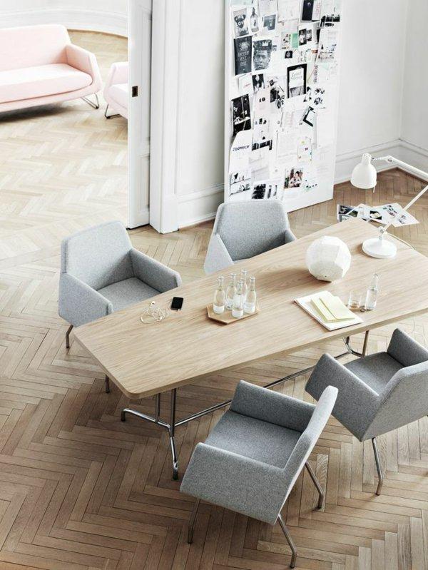 мягкие серые стулья обеденные для кухни фото кресла