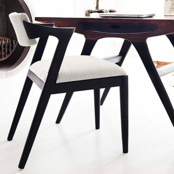 мягкие стулья обеденные для кухни фото черные белые дизайнерские