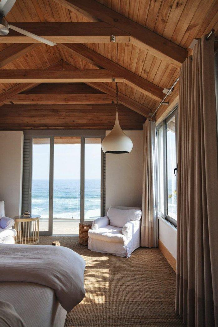 освещение спальни деревенский стиль фото