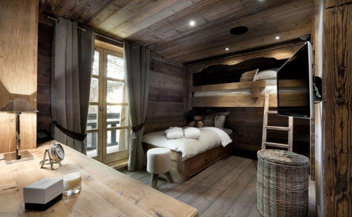 освещение спальни фото деревенский стиль