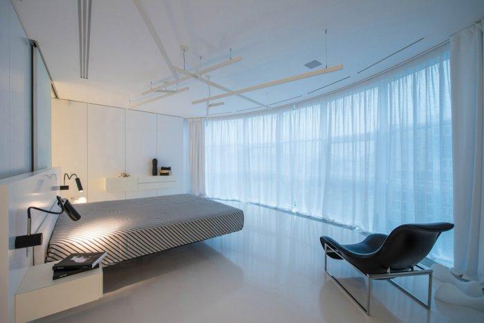 освещение в спальне фото бра геометрическая люстра