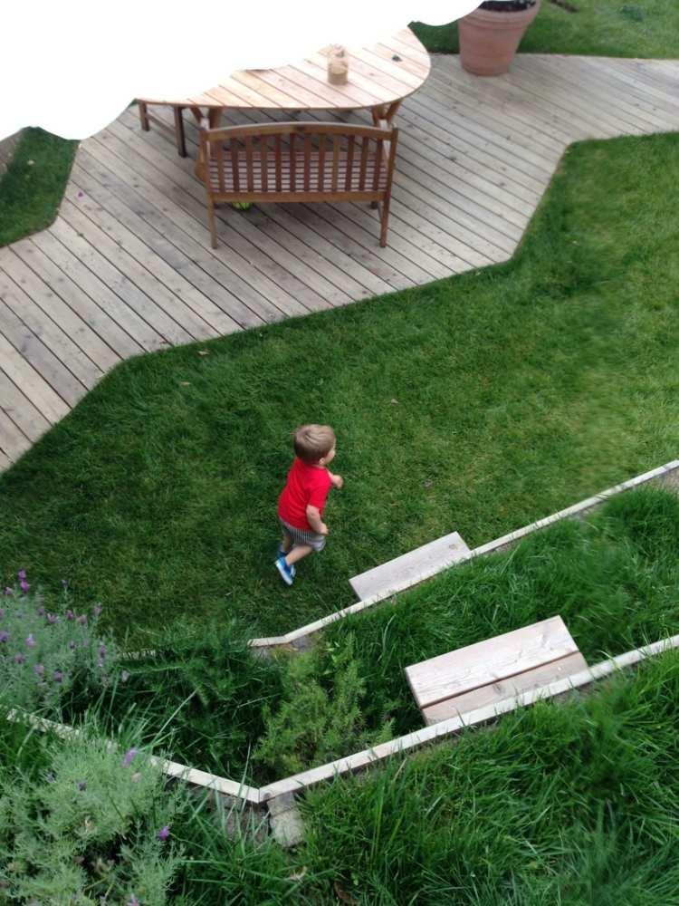 открытая терраса пристроенная для детей фото