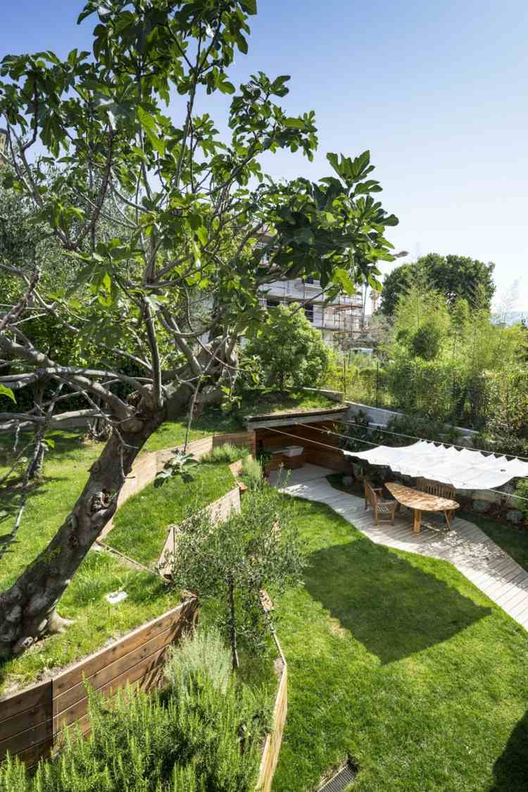 открытая терраса пристроенная итальянский дизайн фото