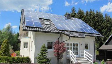 питание от солнечная батарея в частном доме