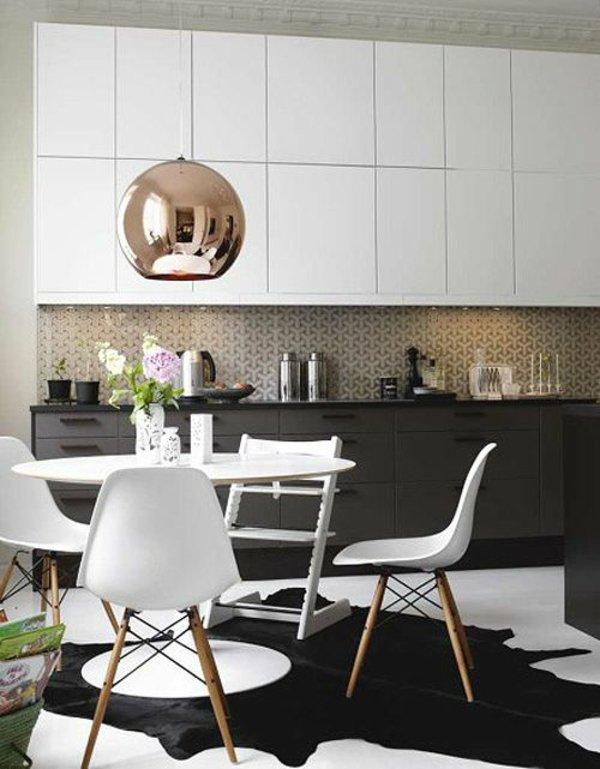 пластиковые белые стулья для кухни фото современные
