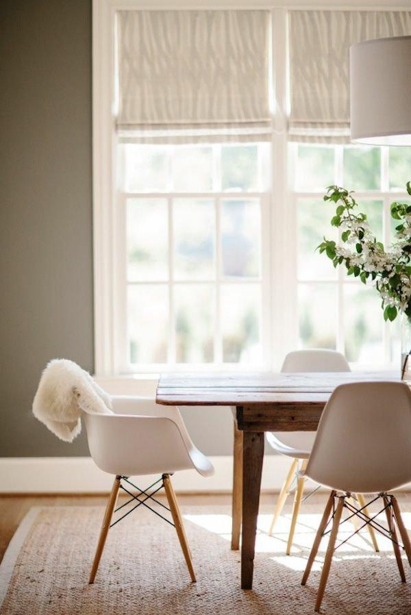 пластиковые обеденные стулья для кухни фото белые