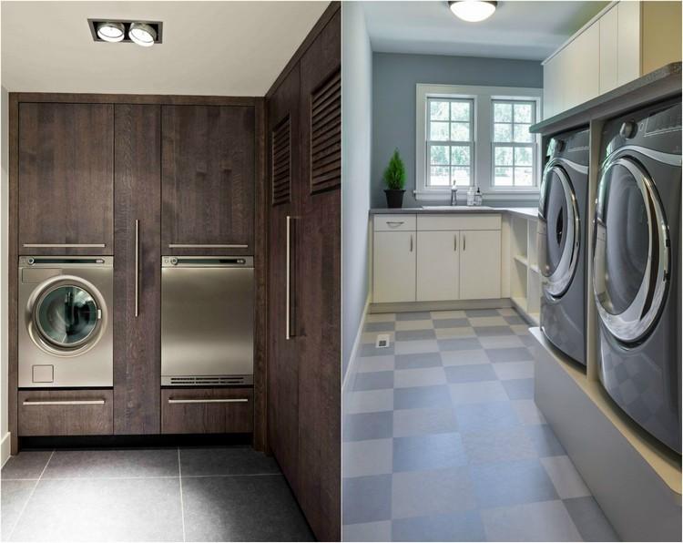 badezimmer mit waschmaschine und trockner ~ raum haus mit, Hause ideen