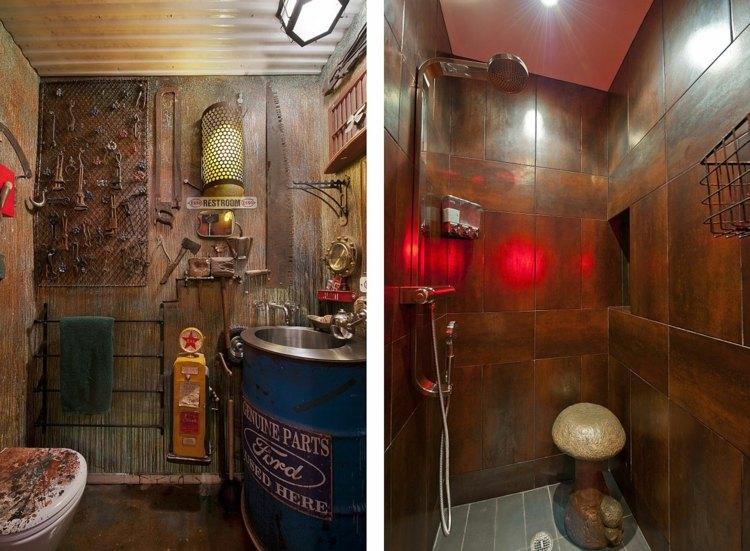 ванная стимпанк стиль фото викторианский как сделать