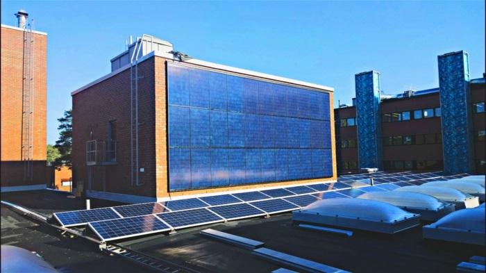 внешняя солнечная батарея для частного дома