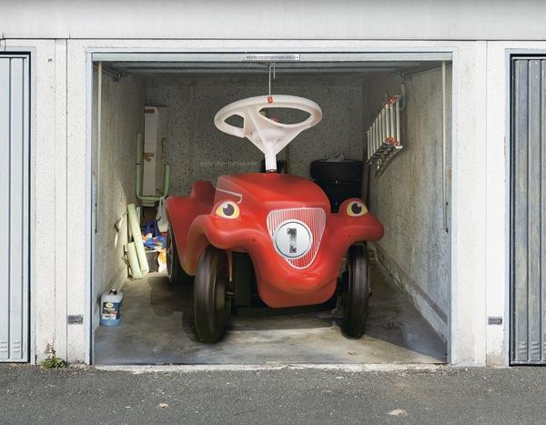 3D наклейки на ворота гаражные идеи фото тачки мультик