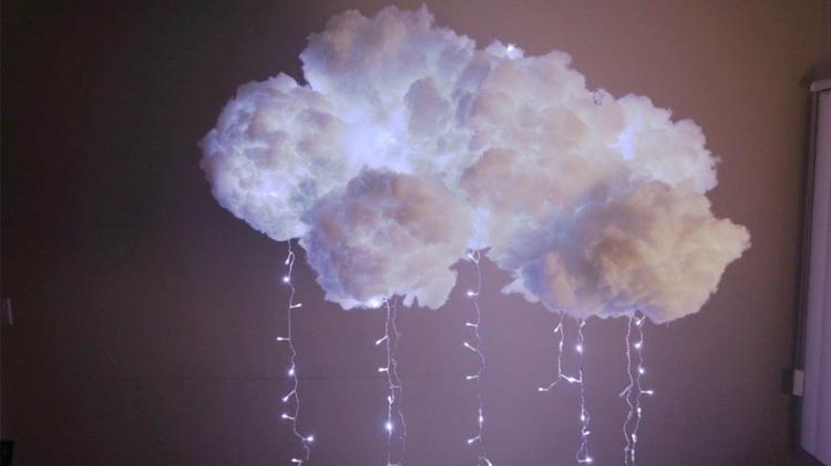 Светильник облако своими руками