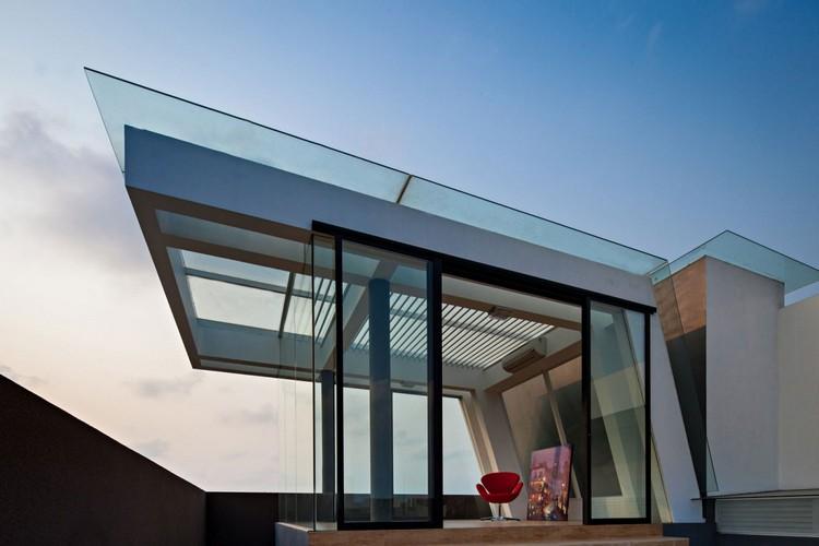 дом премиум класса дизайн фото терраса на крыше стеклянная
