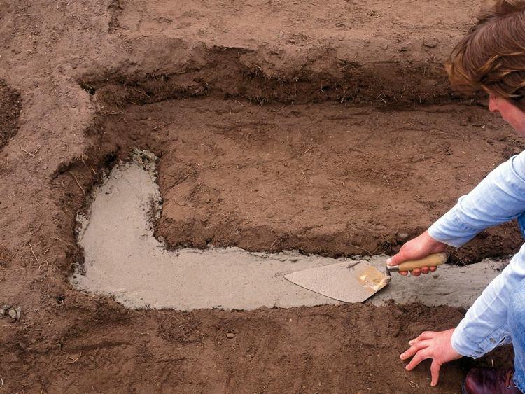 идея садовой лестницы своими руками фотоинструкция пошаговая заливка бетона