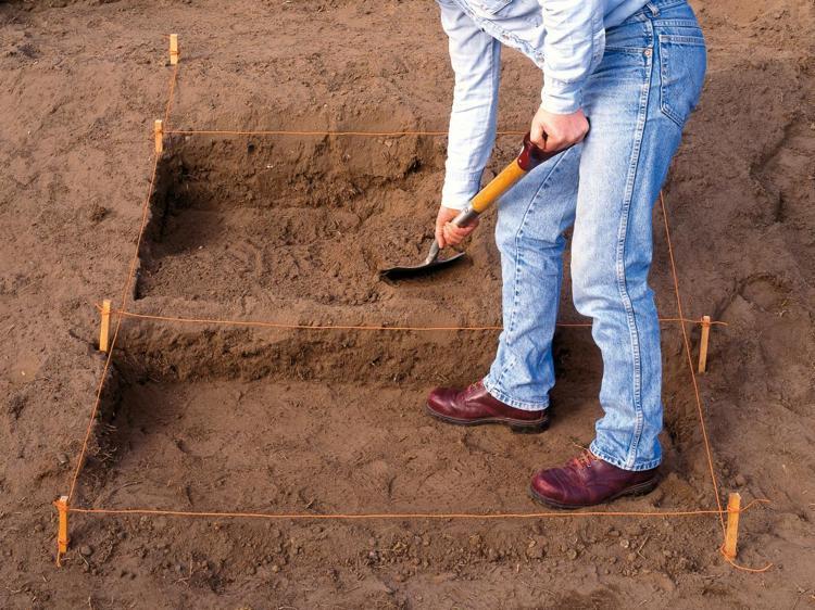 идея садовой лестницы своими руками инструкция пошагово выкопать ступени
