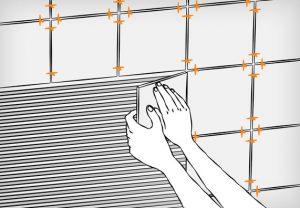 как правильно класть плитку на стену инструкция