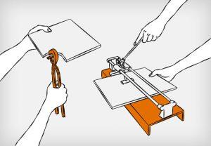 как правильно класть плитку на стену инструкция как обрезать