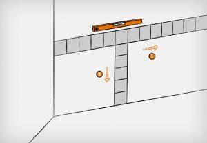 как правильно класть плитку на стену инструкция техника кладки