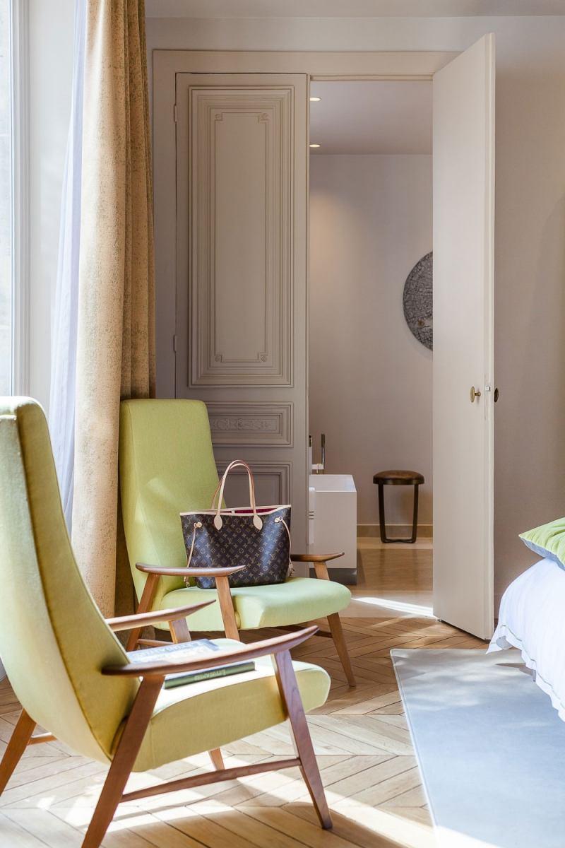 спальня в стиле современное барокко фото кресла париж