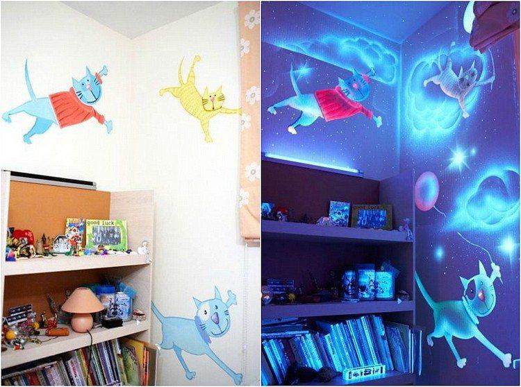светящиеся картинки фото без ультрафиолетовой лампы и при ней