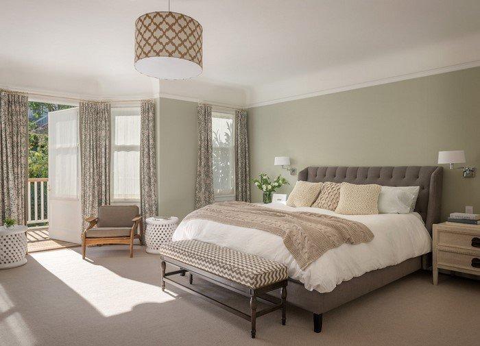 Современные идеи дизайна спальни 2016 фото натуральные цвета в интерьере