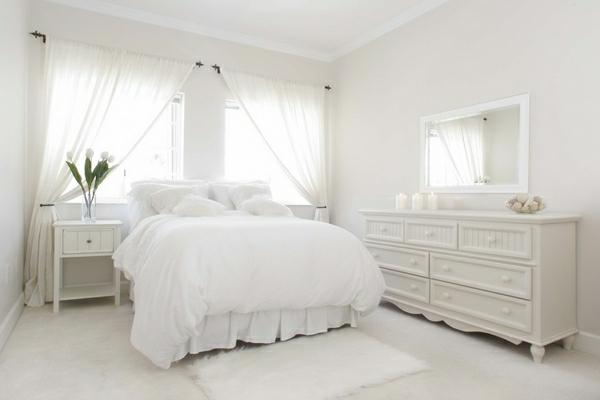 интерьер белой спальни фото дизайн