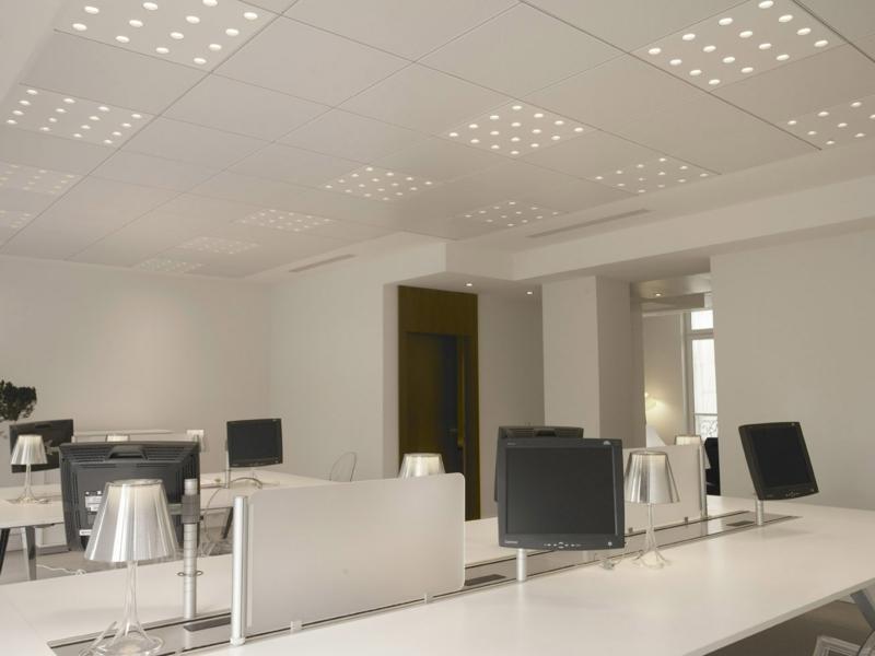 освещение офиса фото современные потолочные светильники лампы