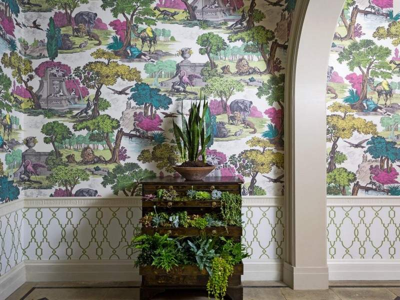 стиль шебби шик в интерьере фото комод для цветов своими руками