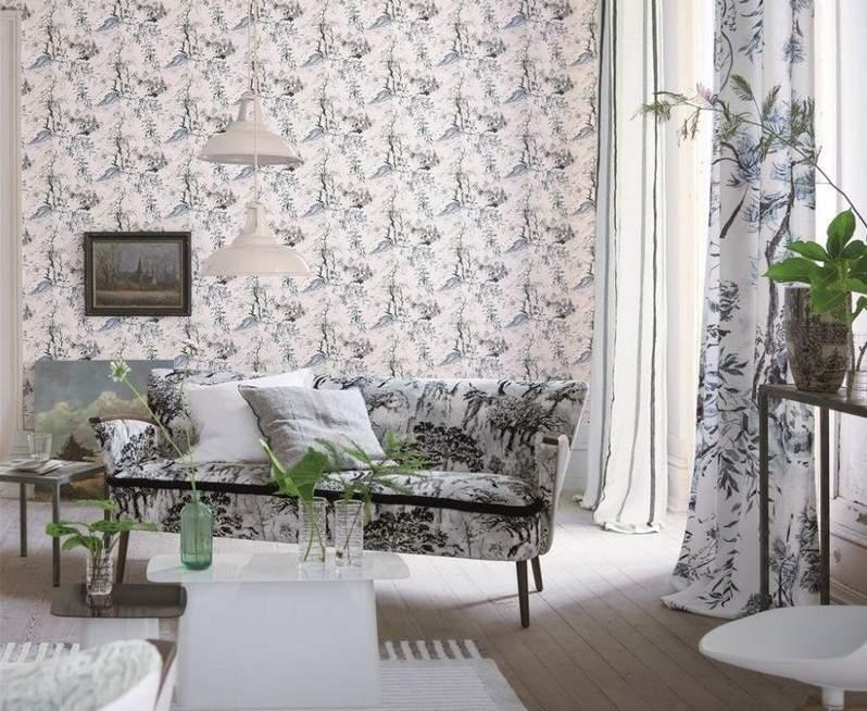 стиль шебби шик в интерьере гостиной фото декор узоры аксессуары