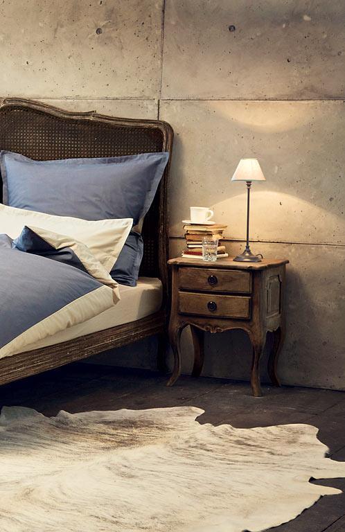 стиль шебби шик в интерьере спальни фото деревянная мебель декор
