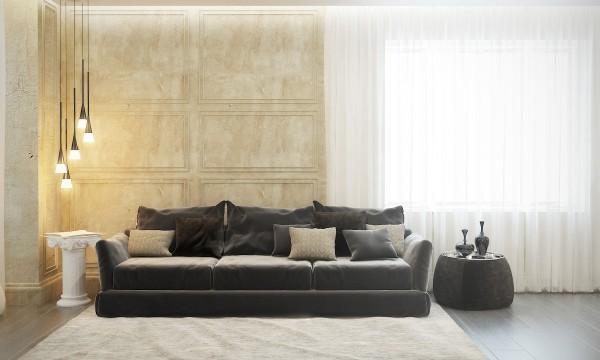 стиль современная классика в интерьере фото дизайн гостиной