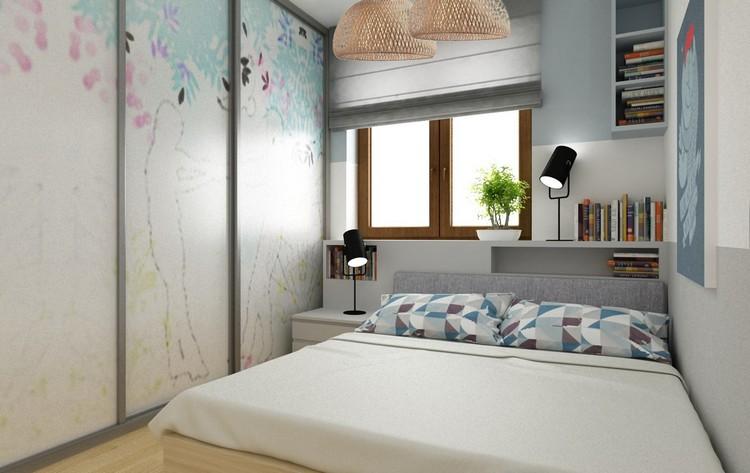 Дизайн потолков в мансардной комнате фото