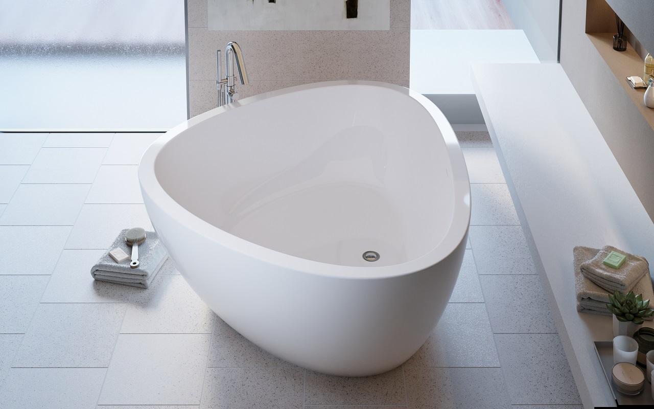 Роскошная ванна необычной формы 5