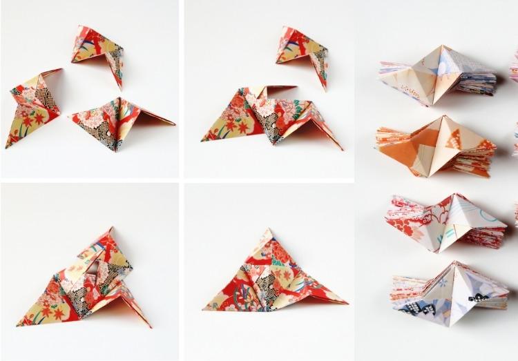 Декор стен своими руками из оригами-3Д фото (2)