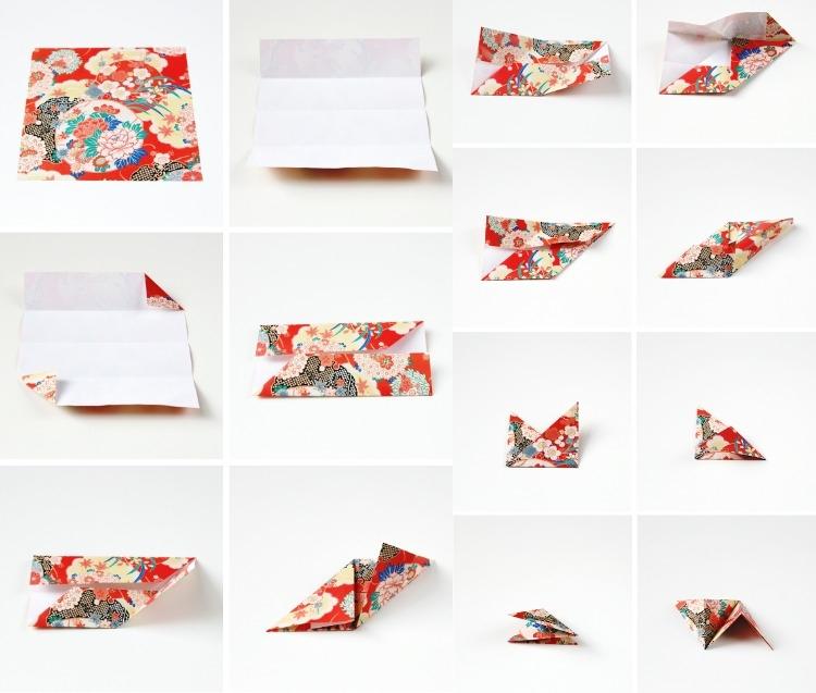 Декор стен своими руками из оригами-3Д фото (3)