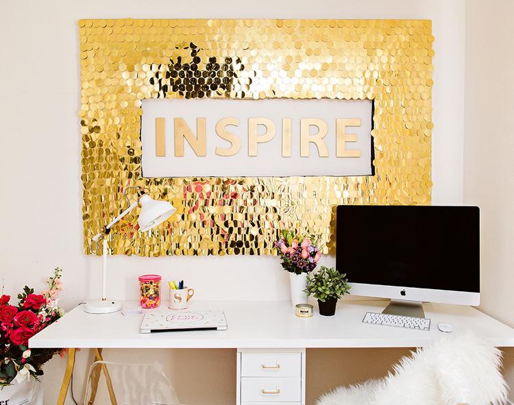 идеи декора стен своими руками фото (4)