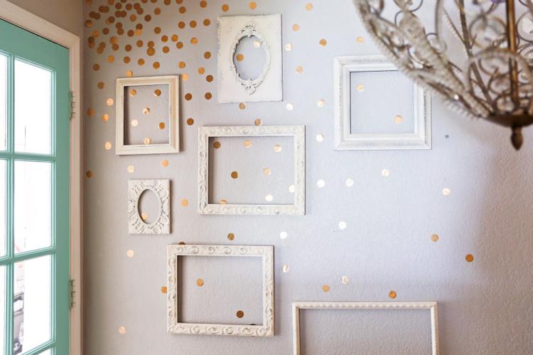 идеи декора стен своими руками фото (7)