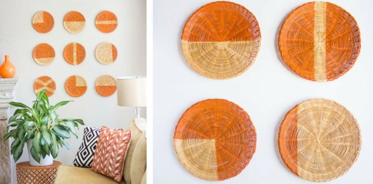 окраска плетеной тарелки фото (2)