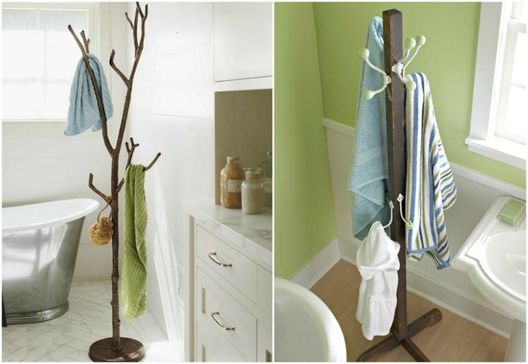 держатель для полотенец в ванную своими руками (14)