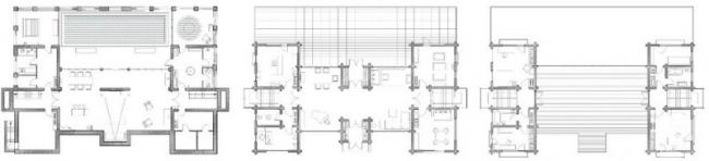 проект зимнего дома из бруса фото (10)