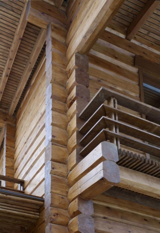 проект зимнего дома из бруса фото (11)