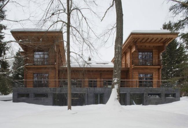 проект зимнего дома из бруса фото (12)