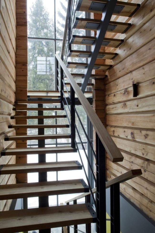 проект зимнего дома из бруса фото (17)