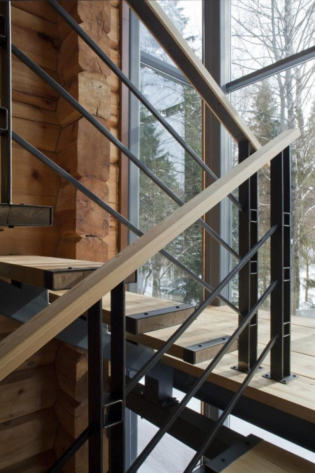проект зимнего дома из бруса фото (19)