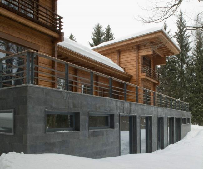 проект зимнего дома из бруса фото (20)