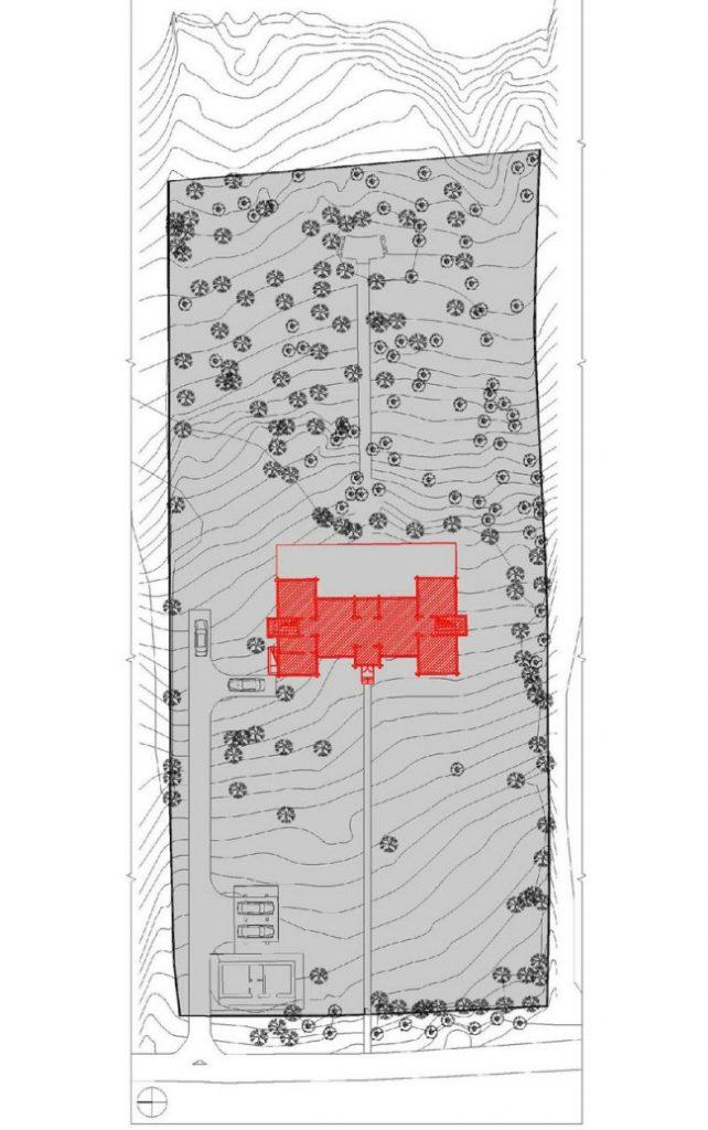 генплан проект зимнего дома из бруса фото (4)