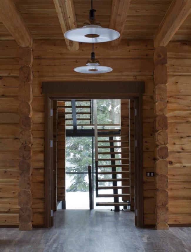проект зимнего дома из бруса фото (8)