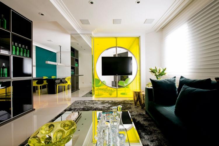 желтая гостиная или гостиная в желтых тонах