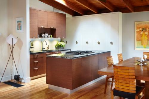 Интерьеры кухонь с газовыми котлами фото